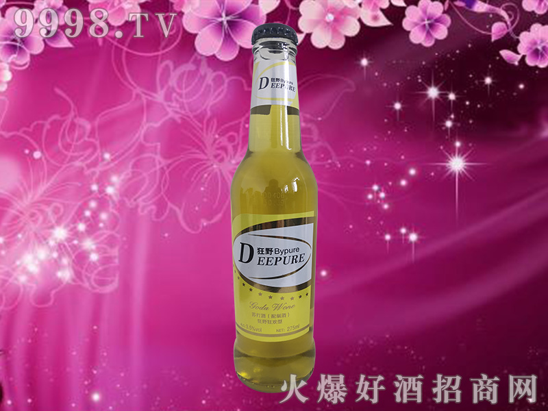Deepure狂野苏打酒3.5度275ml